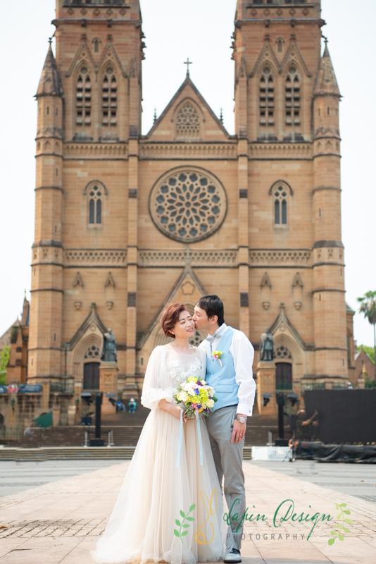 セントメアリー大聖堂ウェディングフォト