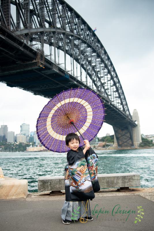 シドニー七五三撮影